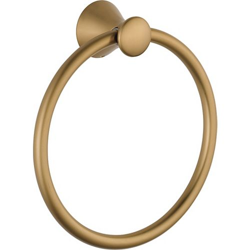 Lahara Towel Ring, Champagne Bronze