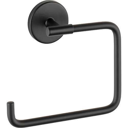 Trinsic Towel Ring, Matte Black