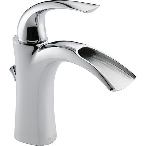 Delta Nyla Single Handle Lavatory Faucet, Chrome