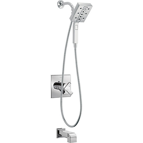 Ara Monitor 17 Series Tub and Shower Trim, Chrome (Valve Included)