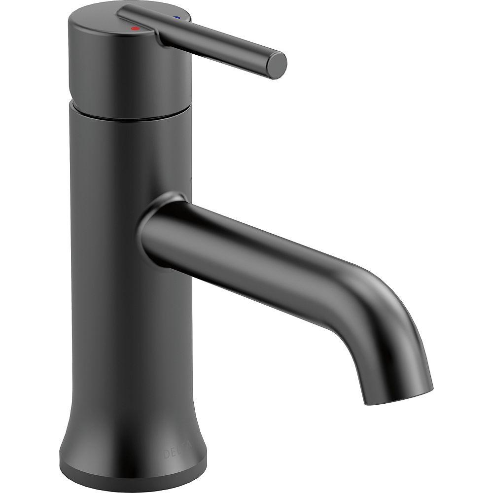 Delta Trinsic Single Handle Lavatory Faucet - Matte Black