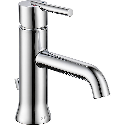 Trinsic Single Handle Lavatory Faucet - Less pop up, Chrome
