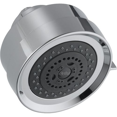 Delta Rhythm 3-Setting Shower Head, Chrome