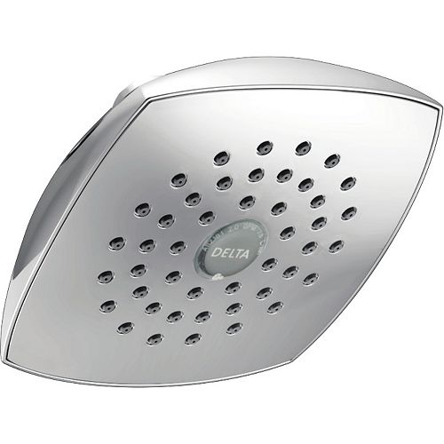 Delta Single-Setting Raincan Shower Head, Chrome