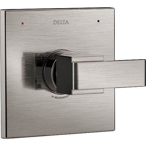 Delta Ara Monitor 14 Series Valve Only Trim, Stainless Steel (Valve Sold Separately)