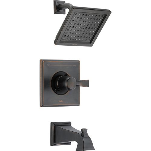 Delta Dryden Monitor 14 Series Tub and Shower Trim, Venetian Bronze (Valve Sold Separately)
