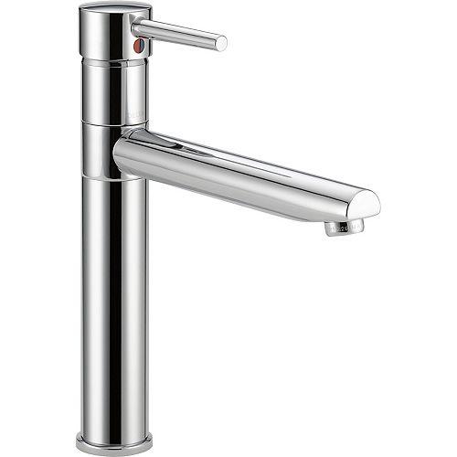 Trinsic Single Handle Centerset Kitchen Faucet, Chrome