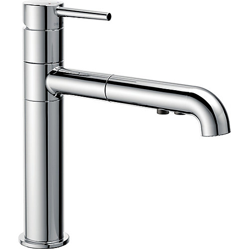 Trinsic Single Handle Pull-Out Kitchen Faucet, Chrome