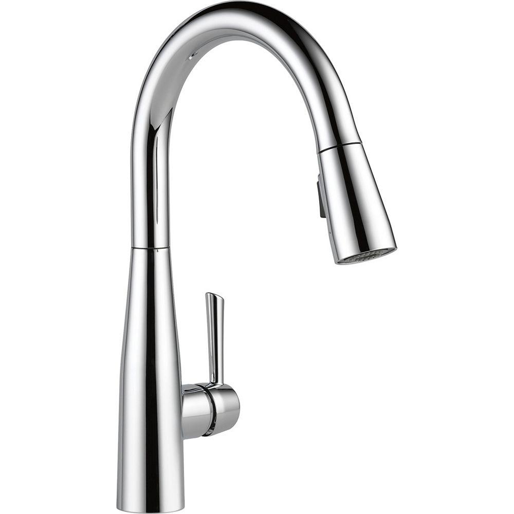 Essa Single Handle Pull down Kitchen Faucet, Chrome