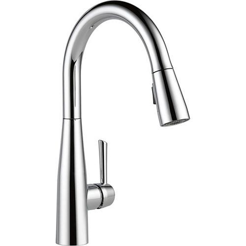 Essa Single Handle Pull-down Kitchen Faucet, Chrome