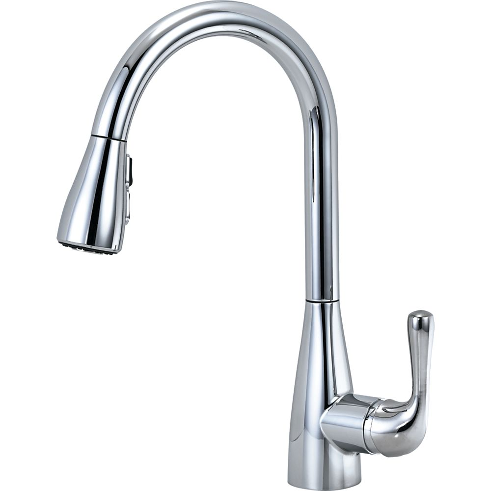 Delta Marley Single Handle Pull-Down Kitchen Faucet, Chrome
