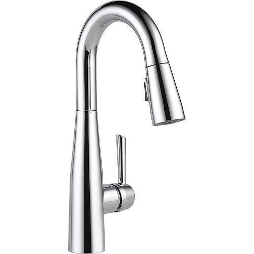 Delta Essa Single Handle Pull-down Bar/Prep Faucet, Chrome