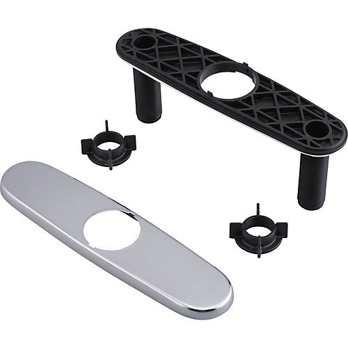 Escutcheon and Gasket, Arctic Stainless
