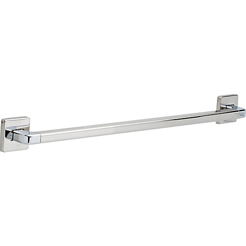 Angular Modern Grab Bar - 24 inch , Chrome