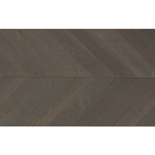 Palatial Oak Chevron 5/8 inch Tx11 inch W x 60 inch L Engineered Hardwood Flooring 27.61 sq.ft./case