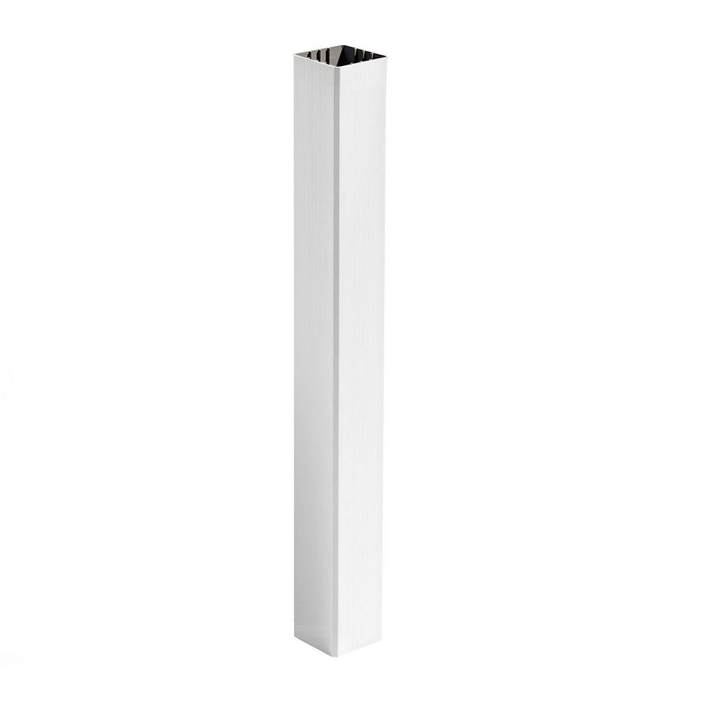 Trex 108 Inch - Transcend 6 Inch X 6 Inch Post Sleeve - White