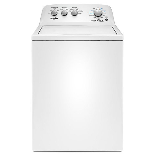 4.4 cu. ft. Top Load Washer with Soaking Cycles in White