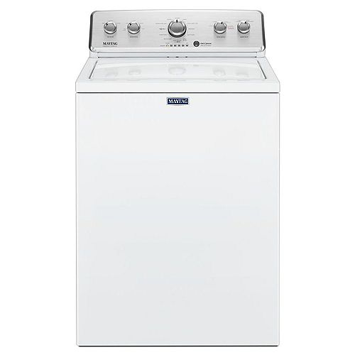 4.4 cu. ft. Top Load Washer with Deep Fill Option in White