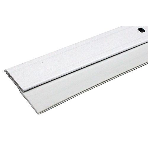 3/4po x 36po Coupe-froid en aluminium et vinyle pour bas de porte - Gris