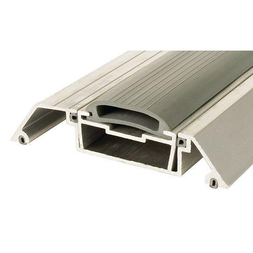 36-inch Adjustable Aluminum & Vinyl Under Door Threshold