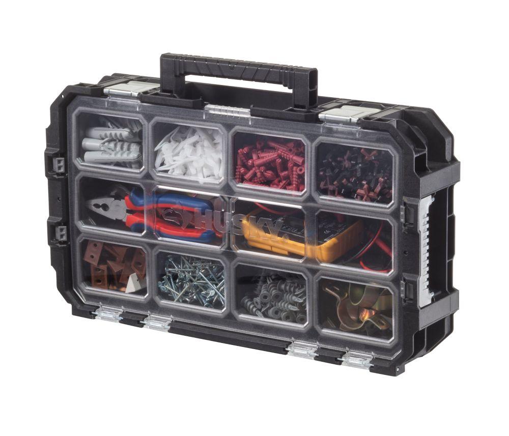 Rangement De Petites Pièces Boîte à outils organisateur bacs 23 Compartiment Cantilever Shop Home