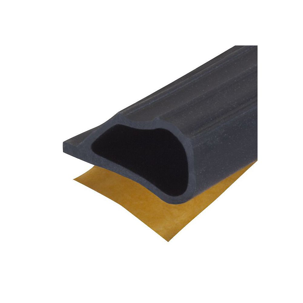 M-D Building Products 1/4po  x 1/2po x 20pi Joint d'étanchéité coupe-froid en silicone pour portes et fenêtres - Noir