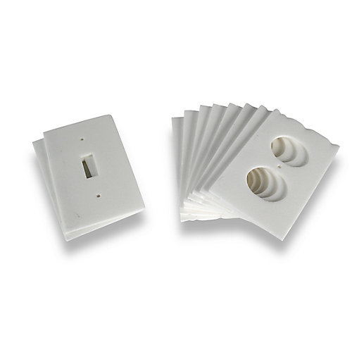 Insulated Outlet Plate Sealers