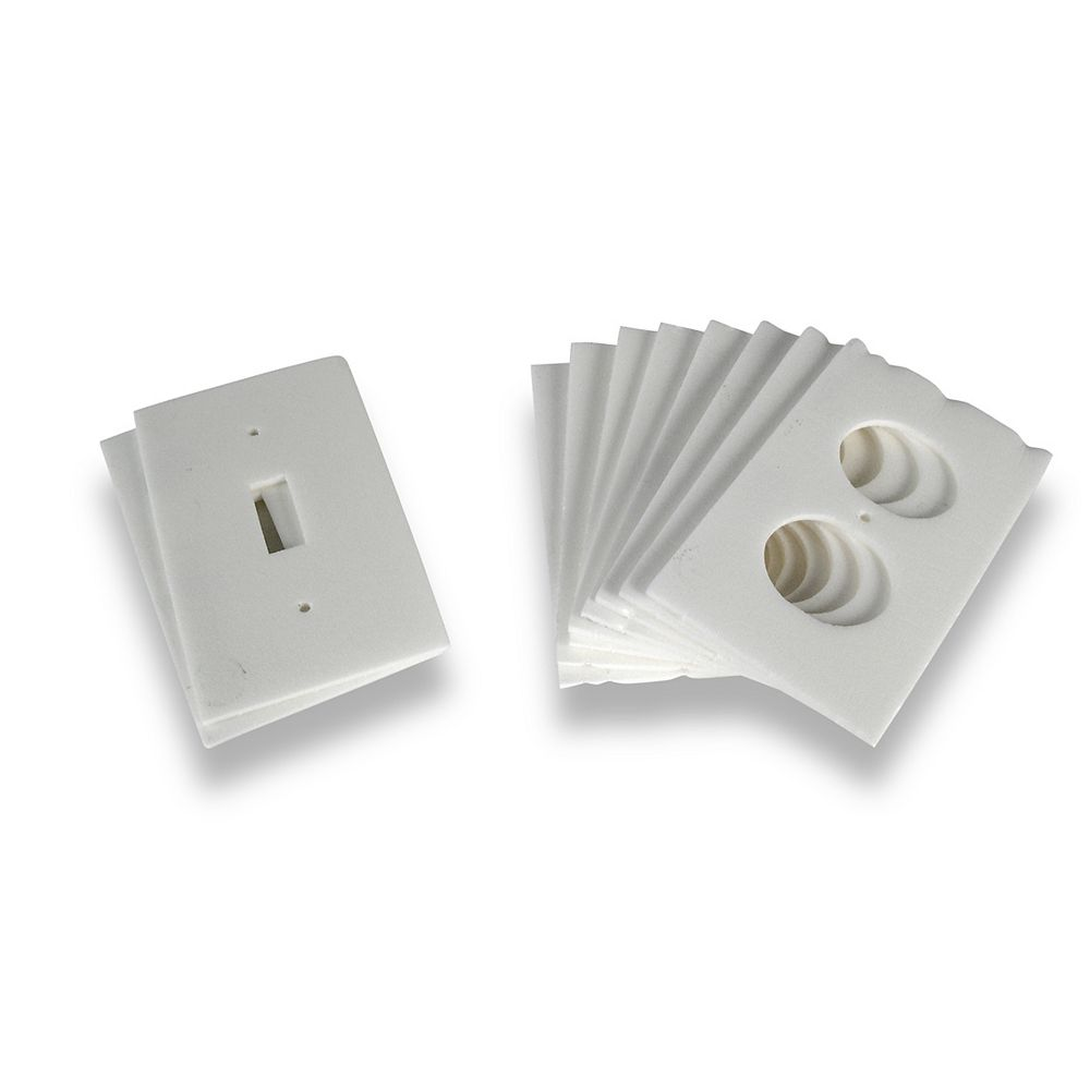 M-D Building Products Insulated Outlet Plate Sealers