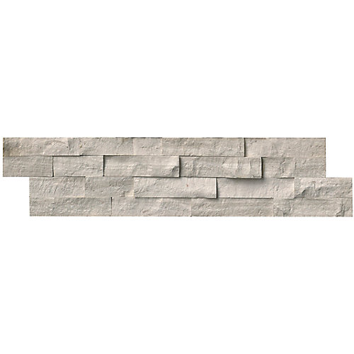 Classico Oak Ledger Panel 6-inch x 24-inch Natural Marble Wall Tile (10 cases / 60 sq. ft. / pallet)