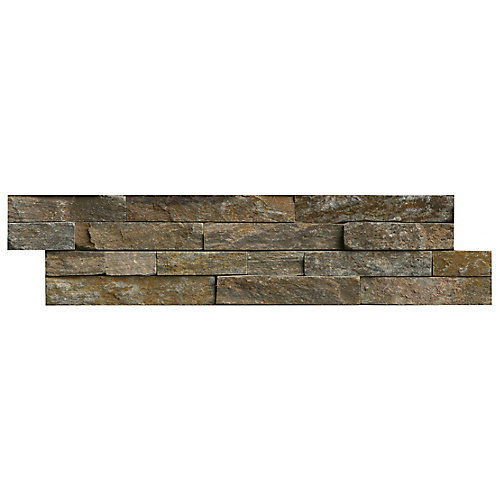 Canyon Creek Ledger Panel 6-inch x 24-inch Natural Quartzite Wall Tile (40 sq. ft. / pallet)