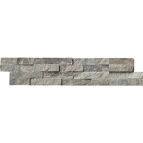 Sage Green Ledger Panel 6-inch x 24-inch Natural Quartzite Wall Tile (60 sq. ft. / pallet)