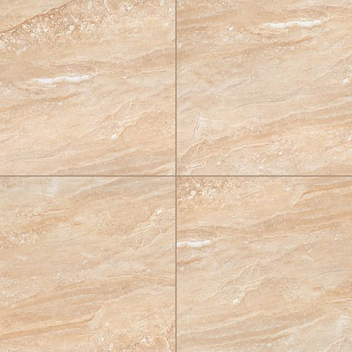 Aria Oro 24-inch x 24-inch Polished Porcelain Floor and Wall Tile (16 sq.ft. / Case)