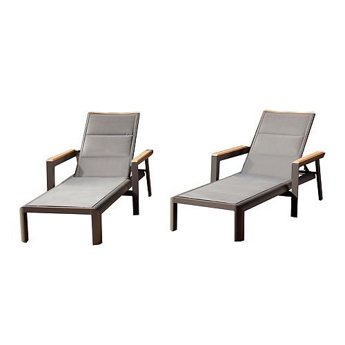 Rosseau Chaise Lounge (2-Pack)