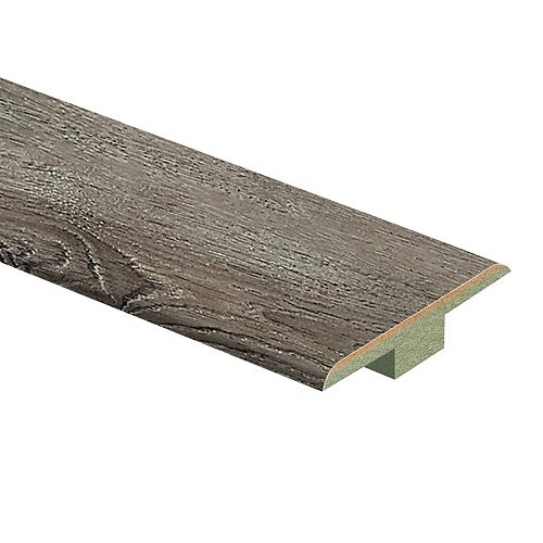 Sanded Oak 7/16-inch Thick x 1 3/4-inch Wide x 72-inch Length Laminate T-Moulding