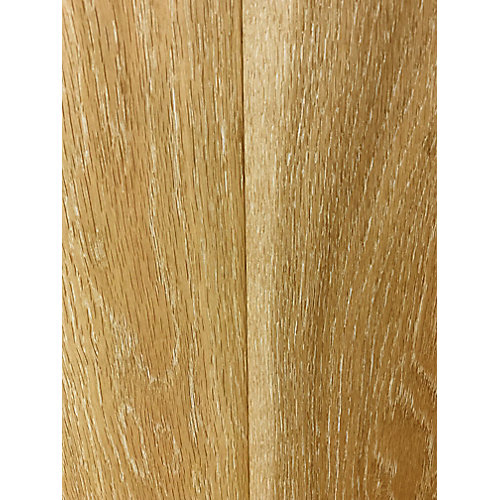 Brushed Washed Oak 1/2-inch x 4 7/8-inch x 48-inch Click Engineered Hardwood 25.83 sq. ft. / case)