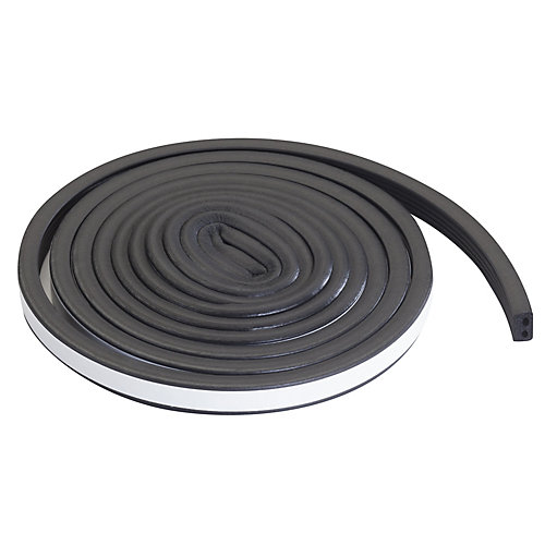 19/32-inch x 10-ft. Premium Auto And Marine Rubber Weather-Strip Black