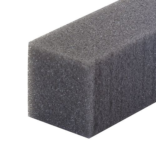 1-1/4-inch x 1-1/4-inch x 48-inch Foam Weather-Stripping For Air Conditioners Grey