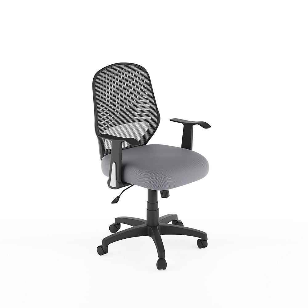 Corliving Workspace Grey Mesh Office Chair The Home Depot Canada
