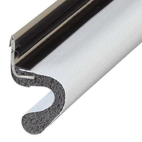1po x 81po Joints de  montant de porte de rechange à revêtement de vinyle - Blanc