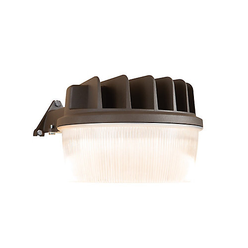 30W Bronze Outdoor Integrated LED Dusk to Dawn Security Area Light with Integral Photocontrol Sensor