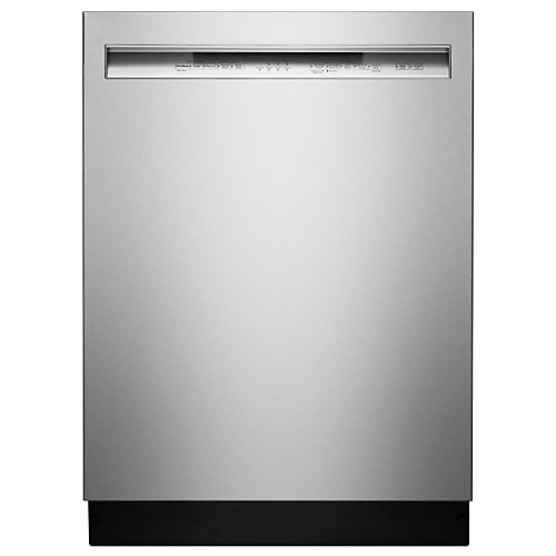 Front Control Dishwasher with ProWash in PrintShield Stainless Steel, 46 dBA