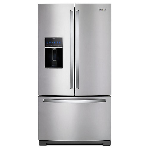 36-inch W 27 cu. ft. French Door Refrigerator in Fingerprint Resistant Stainless Steel - ENERGY STAR®
