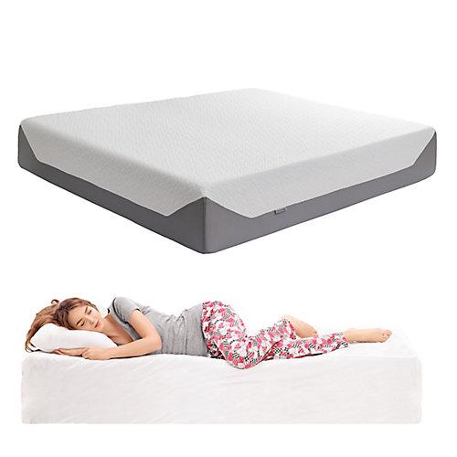 Sleep Collection 14 inch King Medium Firm Memory Foam Mattress