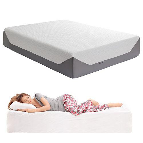 Sleep Collection 14 inch Queen Medium Firm Memory Foam Mattress