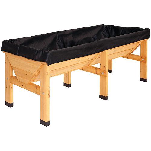 Replacement Liner for Medium Classic Raised Garden Bed Planter