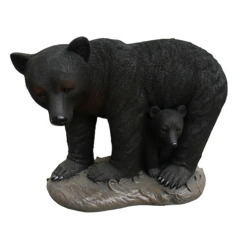 Angelo Décor 31-inch Bear with Cub Statue
