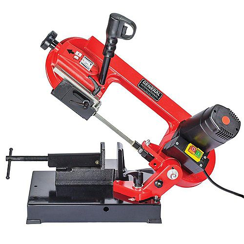General International 4-inch 5 amp Metal Cutting Band Saw