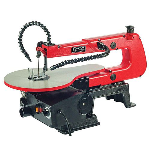 16 inch 1.2A Variable Speed Scroll Saw With Flex Shaft Led Light
