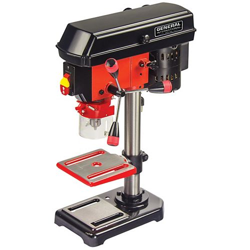 8-inch 5-Speed 2 amp Bench Mount Drill Press with Laser System