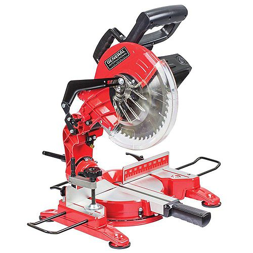 10 inch 15A Compound Miter Saw With Laser Alignment System